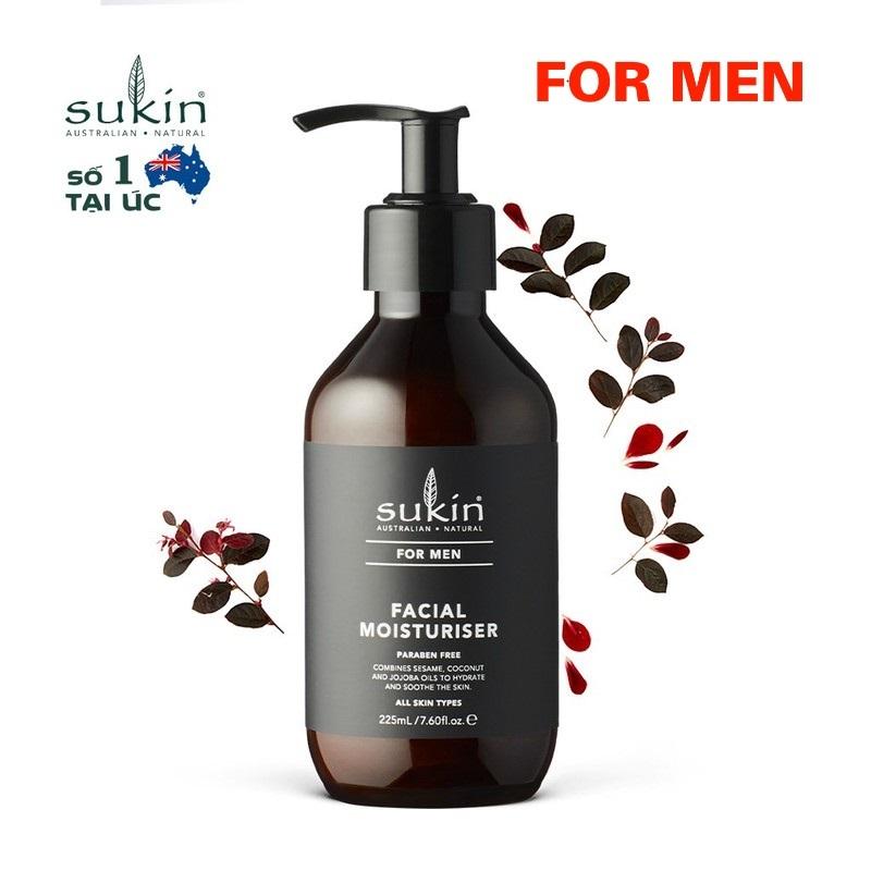 Kem dưỡng ẩm dành cho nam Sukin For Men Facial Moisturiser 225ml