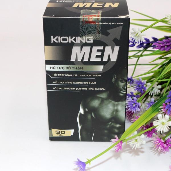 Viên uống BVSK Kioking Men - Giúp bổ thận, tráng dương, tăng cường sinh lực phái mạnh