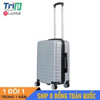 [MIỄN PHÍ SHIP] Vali TRIP PC911 size 20inch Vali du lịch dây kéo kép chống trộm size xách tay lên máy bay thumbnail