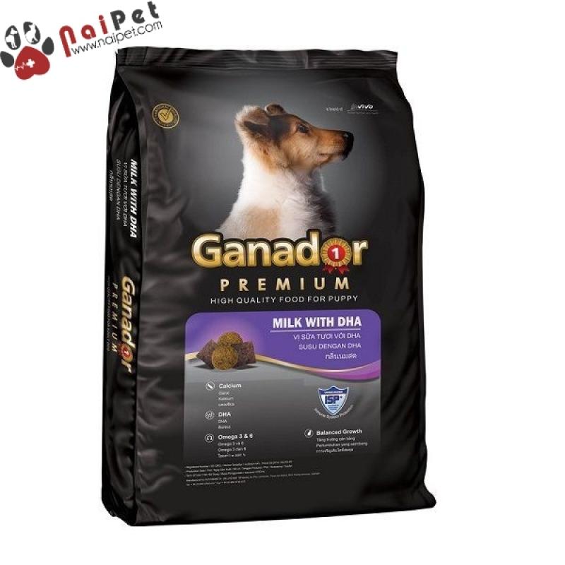 Thức Ăn Hạt Khô Cho Tất Cả Các Giống Chó Con Và Chó Lớn Ganador 400g