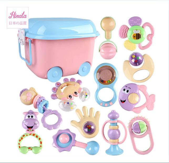 Bộ đồ chơi thông minh cho bé thương hiệu Hinata BDC08 - Tặng kèm hộp đựng đồ chơi cao cấp