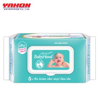 Khăn Khô Em Bé Babyhood 120 miếng thumbnail