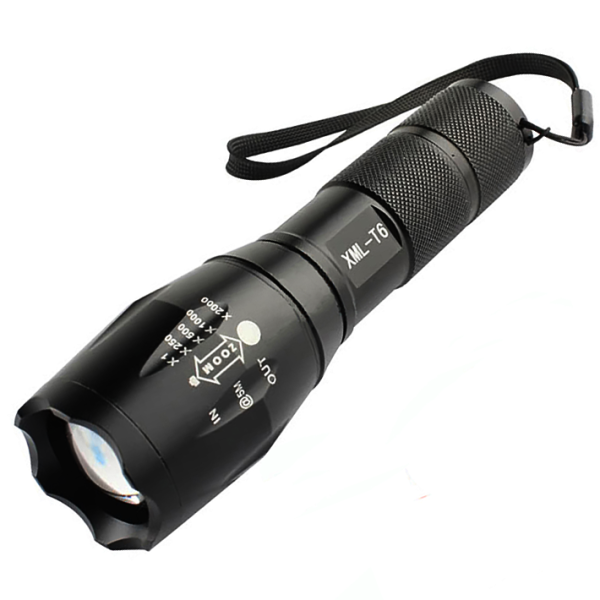 Đèn pin siêu sáng phiên bản cao cấp chiếu xa 300m hợp kim chống nước dễ dàng sạc
