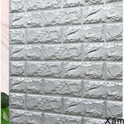 Giá Sốc Duy Nhất Hôm Nay Khi Mua Miếng Dán Tường, Tấm Xốp Dán Tường  Giả Gạch Vân Đá Nhiều Màu Cách Âm Mieng Giay Xop Dan Tuong