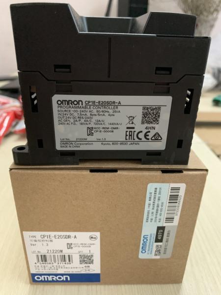 PLC CP1E-E20SDR-A