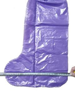 Đôi ủng nylon đi mưa, màu bất kỳ làm sạch giầy dép trong những ngày mưa gió, mưa ngâu, đi chơi xuân không lo ướt bận 5