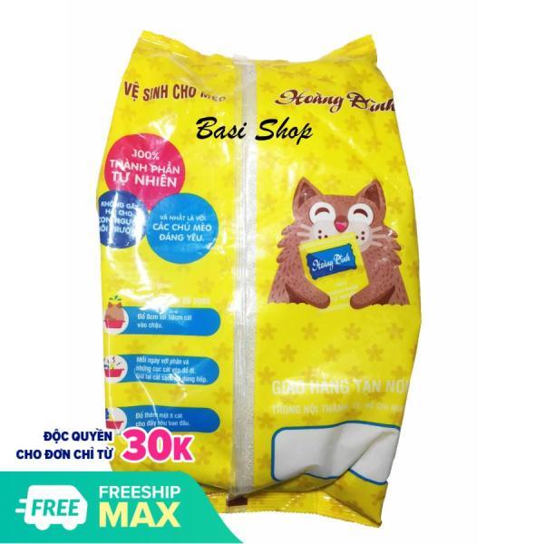 5kg Cát Vệ Sinh Cho Mèo Royal (Hoàng Đình) Không Mùi - Cát Cho Mèo, Chó, Hamster, Chim,...