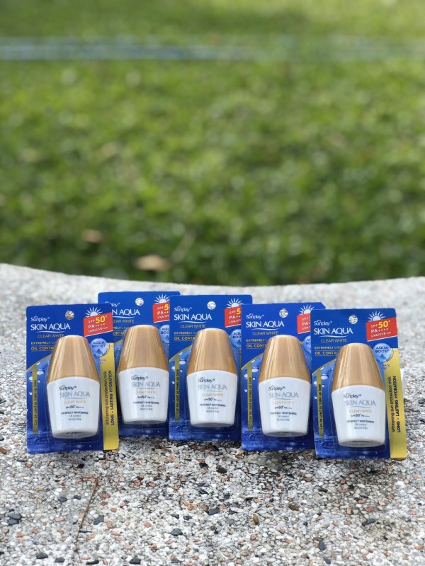 10 tuýp kem chống nắng Sunplay Clear White SPF 50+ nhập khẩu