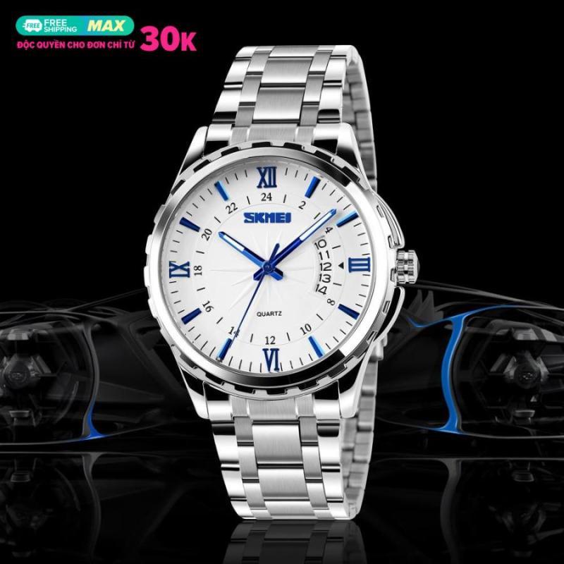 Đồng hồ nam thời trang chống nước Skmei ( Trắng ) 02