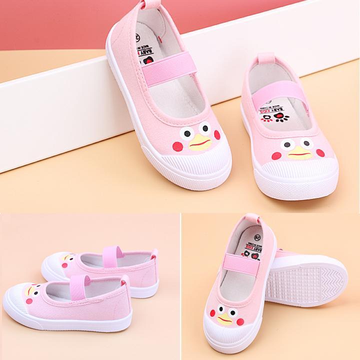 Mã Khuyến Mãi Giày Búp Bê Vải Cho Bé Gái 2- 13 Tuổi Phong Cách Hàn Quốc G06