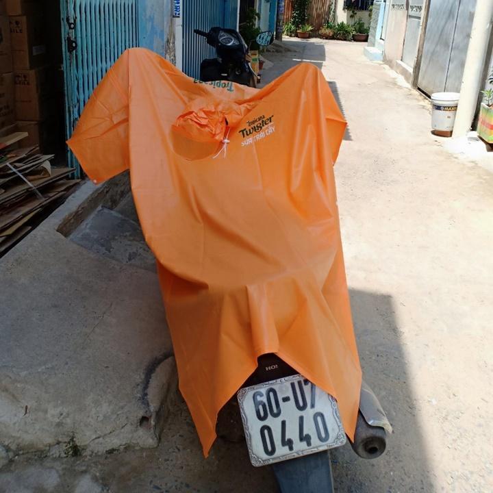 Bộ 4 cái áo mưa Rạng Đông cao cấp