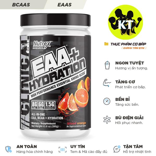 Thực phẩm bổ sung: EAA+ Hydration
