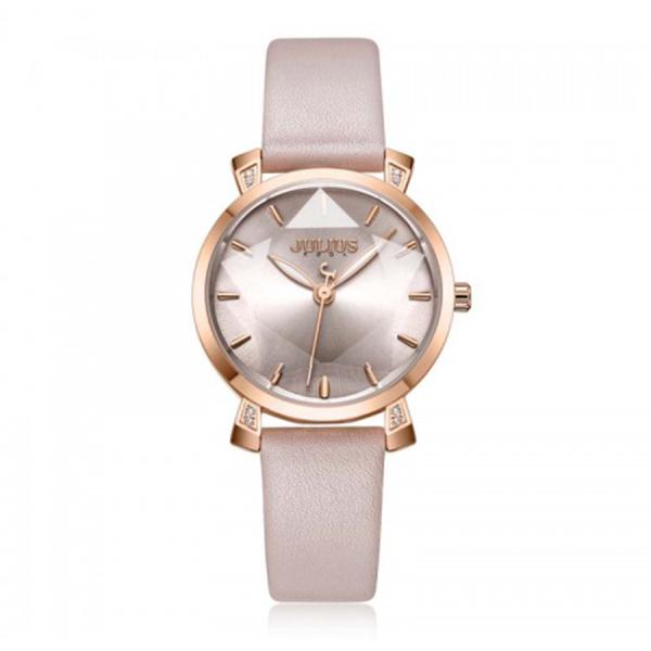 Nơi bán Đồng hồ nữ Julius Hàn Quốc JA-1158 dây da kính 3D tuyệt đẹp