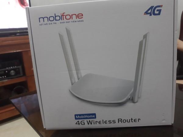 Bảng giá Bộ phát wifi 4G không giới hạn, Bộ phát wifi với sim 4G tốc độ cao không giới han, Bộ phát wifi MobiHome, Bộ phát wifi tại nhà kèm sim 4G miễn phí 1 tháng đầu Phong Vũ