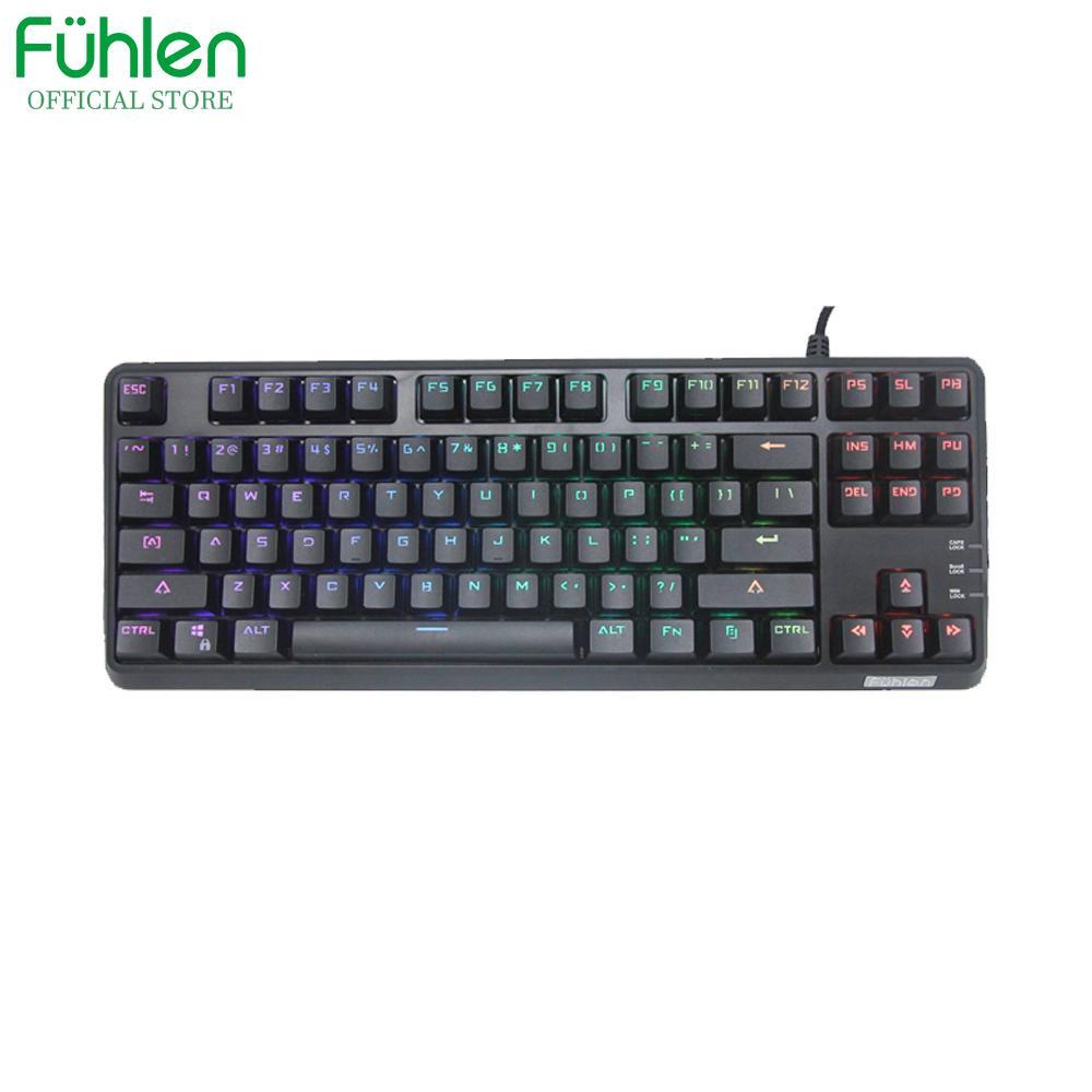 Bàn phím cơ chơi game Fuhlen M87s RGB