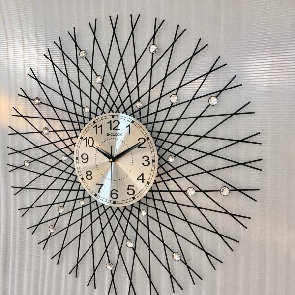 Đồng hồ treo tường đẹp trang trí hiện đại hàng Việt Nam chất lương cao làm quà tặng tân gia D1919 bán chạy