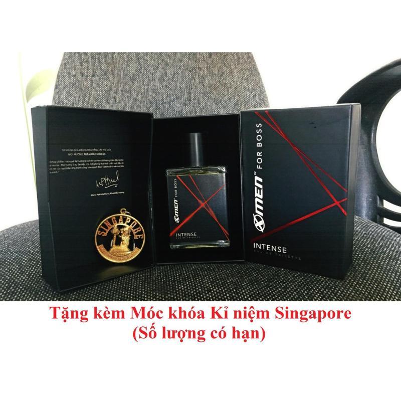 Nước hoa xmen for Boss Intense 2018 tặng kèm móc khóa Singapore