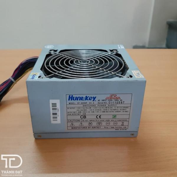 Bảng giá Nguồn Huntkey 400w công suất thực có nguồn phụ 6pin Phong Vũ