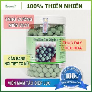 (Hộp 500G) Viên Mầm Tảo Diệp Lục - Tăng Vòng 1, Đẹp Da, Tăng Sinh Lý Nữ, Thơm Ngon. 100% Nguyên Liệu Hữu Cơ. thumbnail
