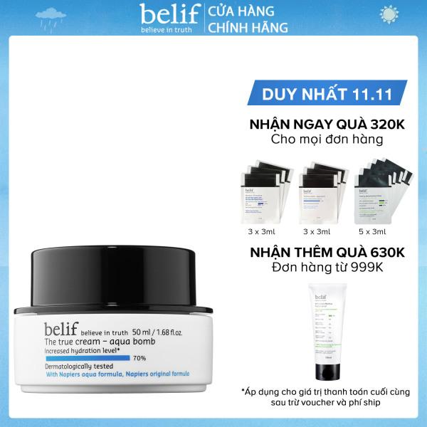 Kem cấp ẩm tức thì dạng gel Belif The True Cream Aqua Bomb 50ml giá rẻ