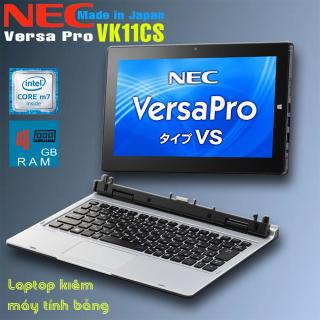 Laptop 2 trong 1 kiêm máy tính bảng NEC Versa Pro VK11 Core M5-6y54, 4gb Ram, 128gb SSD, 12 inch Full HD IPS cảm ứng thumbnail