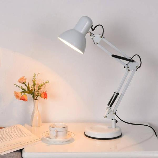 Đèn bàn học cao cấp bảo vệ mắt IKEA DBH-811-T màu trắng