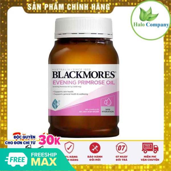 Tinh dầu hoa anh thảo Blackmores Evening primrose oil, thực phẩm chức năng hoa anh thảo úc cân bằng nội tiết tố Blackmore 190v tốt nhất