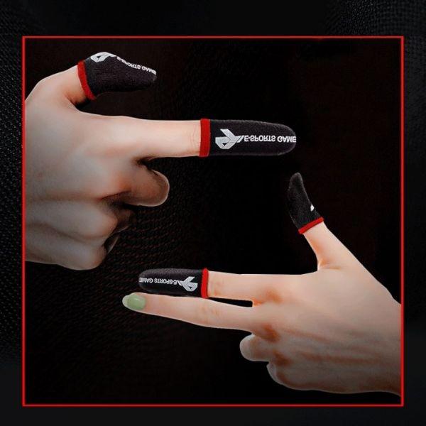 Bao tay chơi gamer bằng điện thoại cảm ứng dành cho nam và nữ, găng tay chơi game ff, pubg, liên quân, bao tay chơi game khô thoáng, không bóc mùi và chống ra mồ hôi