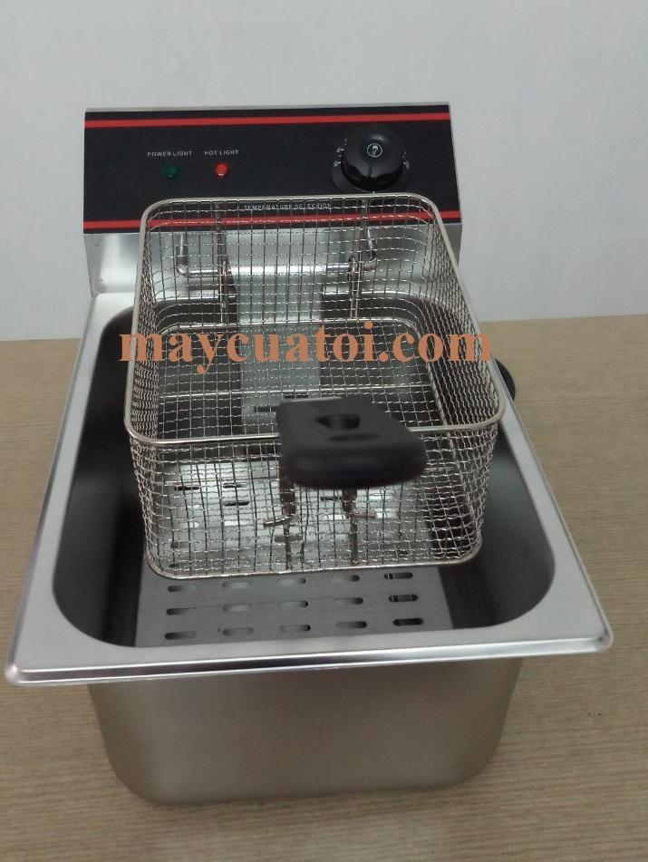 Bếp Chiên Nhúng Điện- Bếp Chiên Đơn- Chảo Chiên Nhúng 6L-2,5kW