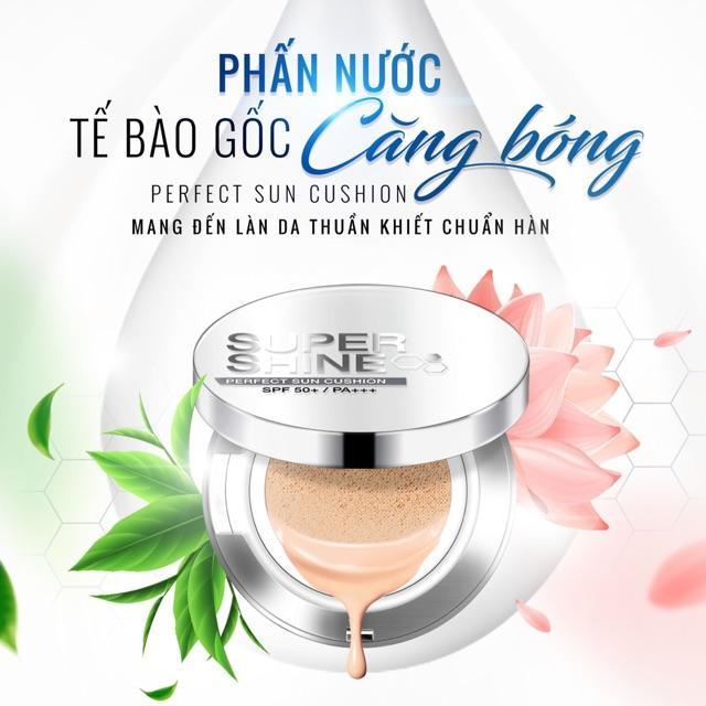 Phấn nước chống nắng Supershine Perfect Sun Cushion - Phuong Anh Beauty Academy nhập khẩu