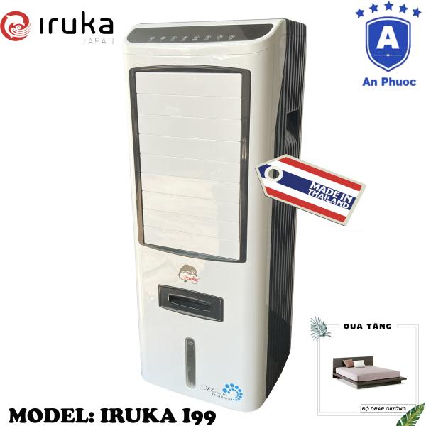 Bảng giá [Trả góp 0%]Quạt hơi nước làm lạnh không khí Iruka I99 Made In Thái Lan | Công suất 200W | Màn hình cảm ứng có remote điều khiển | BH 12 Tháng Tại Điện Máy LACI | Tặng Bộ Drap Giường Ngủ
