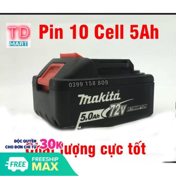 Pin 72V 10 Cell Cho máy siết bulong, máy bắn vít 72V không chổi than
