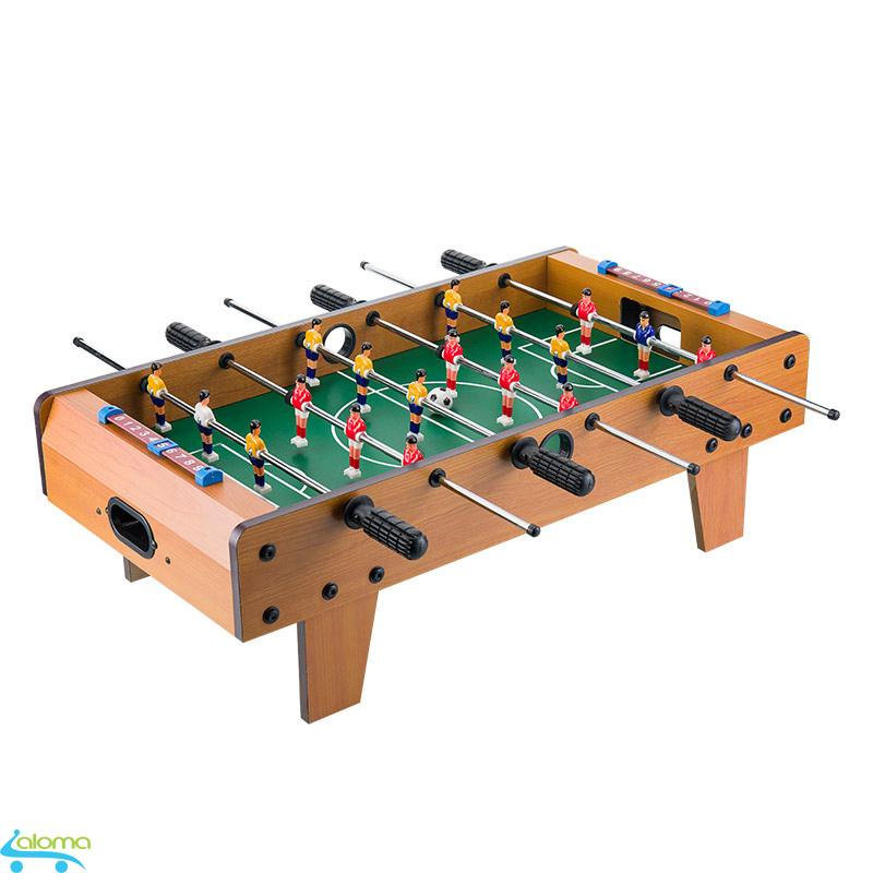 Bàn Bi Lắc Bóng đá Cỡ Lớn 6 Tay Cầm Table Top Football Bằng Gỗ 70*40cm By Dochoicongnghe2018