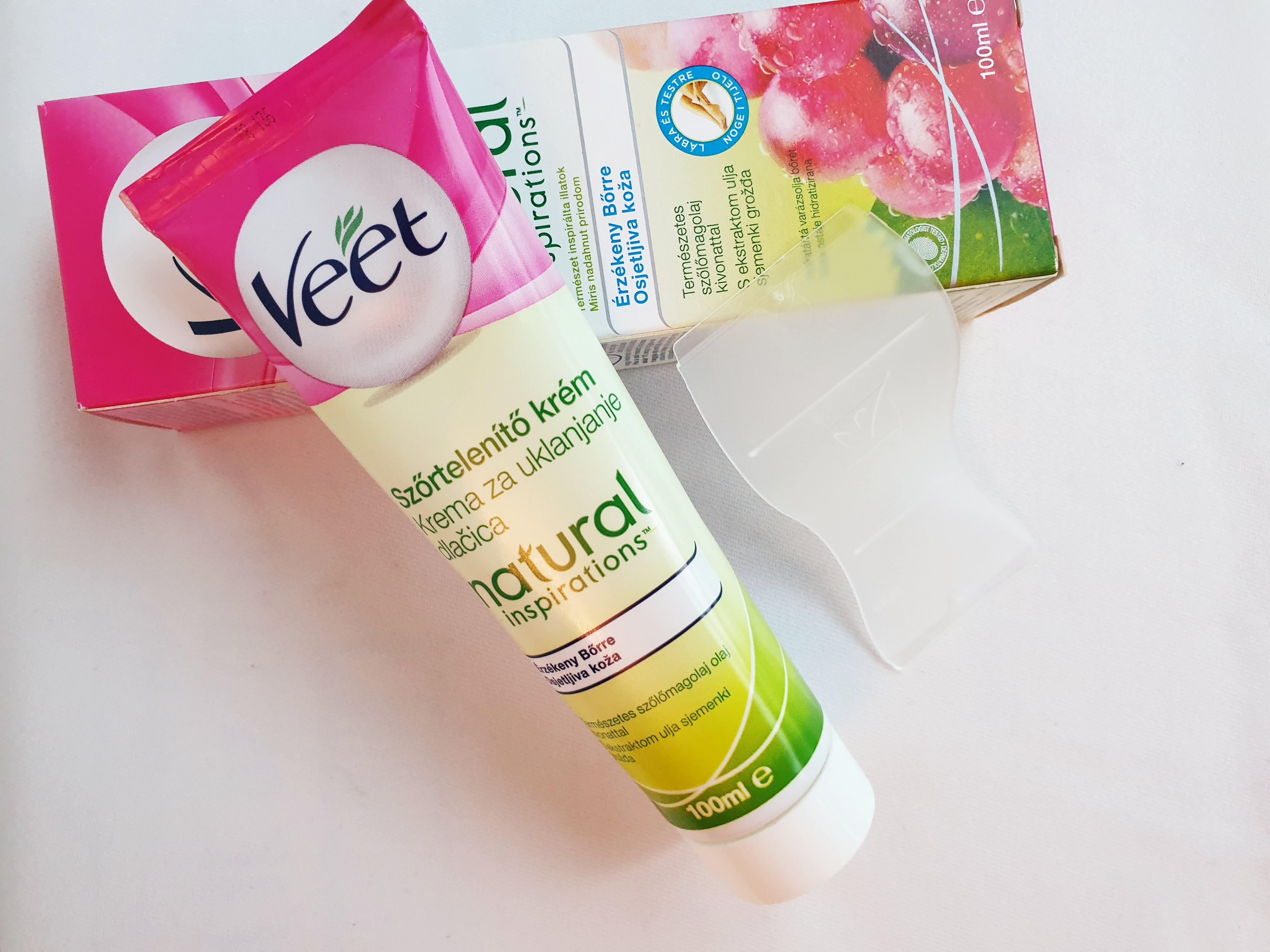 Kem tẩy lông Veet Natural 100ml - Pháp - Tẩy lông - Triệt lông vĩnh viễn cao cấp