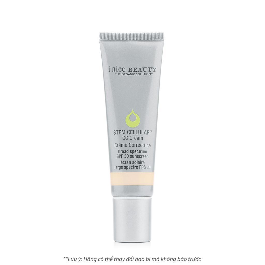 Kem chống nắng hữu cơ cao cấp chống lão hoá và ngừa sạm nám Juice Beauty Stem Cellular CC Cream SPF30 Sunscreen nhập khẩu