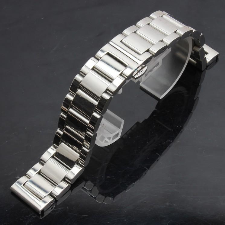 Nơi bán Dây đồng hồ bằng thép không gỉ - Thép bóng