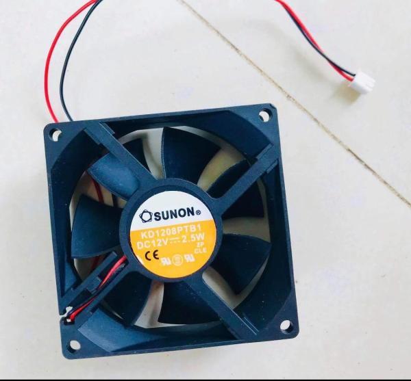 Quạt tản nhiệt-quạt thông gió-8x8cm gió mạnh-quạt máy ấp trứng