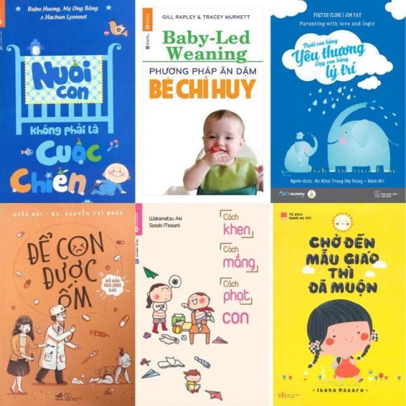 Combo sách nuôi dạy con cực hữu ích (6 cuốn)
