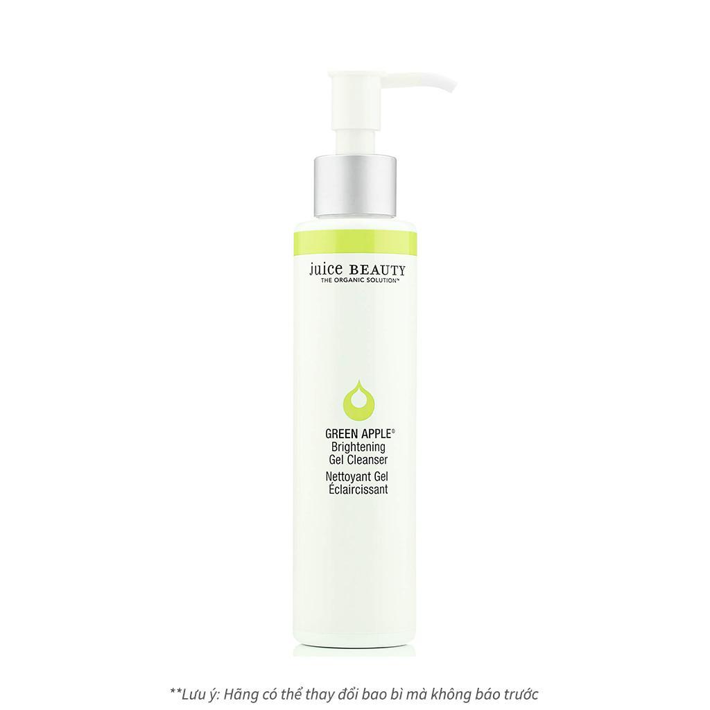 Sữa rửa mặt sáng da hữu cơ cao cấp Juice Beauty Green Apple Brightening Gel