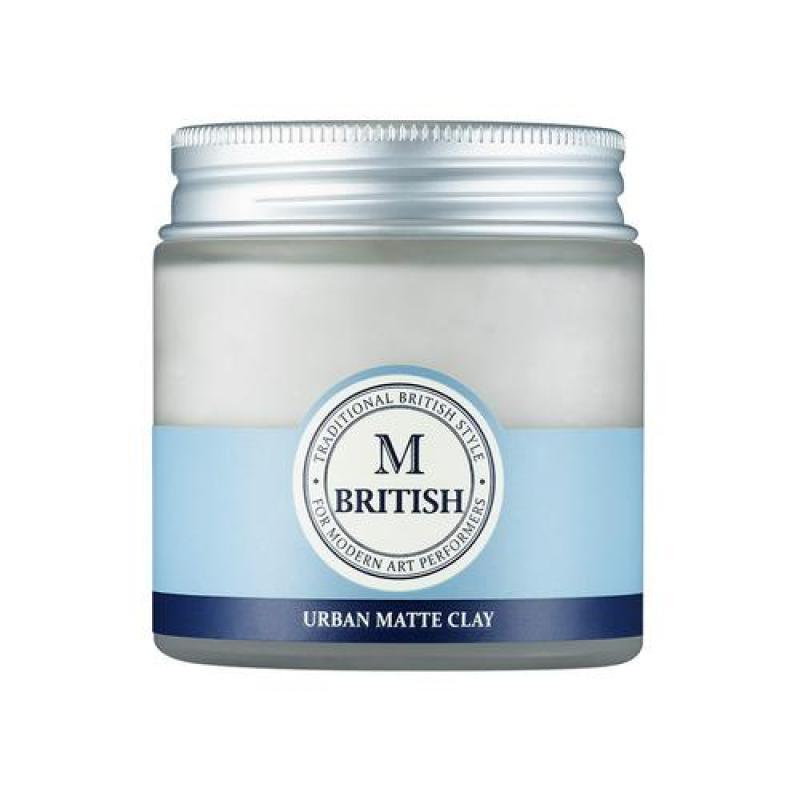 Sáp vuốt tóc cao cấp BRITISH M Urban Matte Clay - 100g giá rẻ