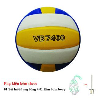 Bóng Chuyền Da Thăng Long VB7400 + Túi Lưới Đựng Bóng + Kim Bơm Bóng thumbnail