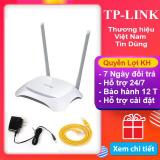Cắm vào là dùng được ngay, Bạn sẽ tiết kiệm được hơn 200 k khi sử dụng sản phẩm bộ phát wifi TP-LINK , cục phát wifi tp link 2 râu, bảo hành 1 đổi 1 ( 12 tháng ) thumbnail