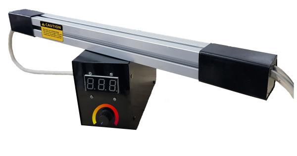 Máy uốn mica dài 500mm, chức năng hiển thị nhiệt độ, độ dày tối đa tấm mica 10mm - 1000w