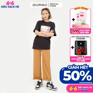 [GIẢM 25K ĐH 250K] Áo in cô gái GUMAC mẫu mới ATB549 thumbnail