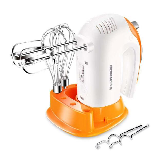 máy đánh kem, máy trộn bột để bàn, máy đánh trứng netmego N38D công suất 300W, Thiết kế nhỏ gọn, Vận hành êm ái, Chất liệu an toàn cho sức khỏe, 5 tốc độ, nhanh gọn, bảo hành uy tín 12 tháng