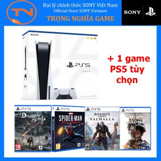 SONY PLAYSTATION 5 CHÍNH HÃNG - MÁY GAME PS5 + 1 game PS5 tùy chọn thumbnail