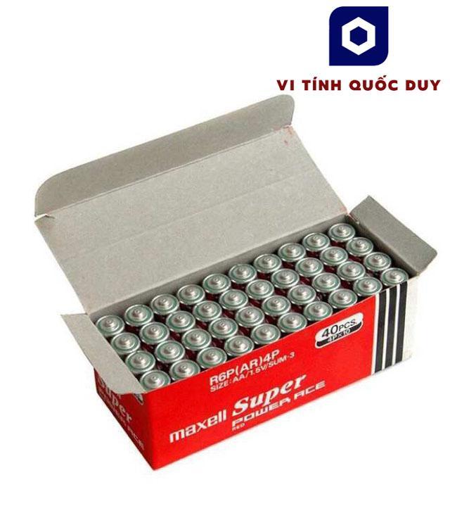 Pin 2A Lớn Maxell Nguyên Hộp 40 Viên. Made In Indonesia Cùng Giá Khuyến Mãi Hot