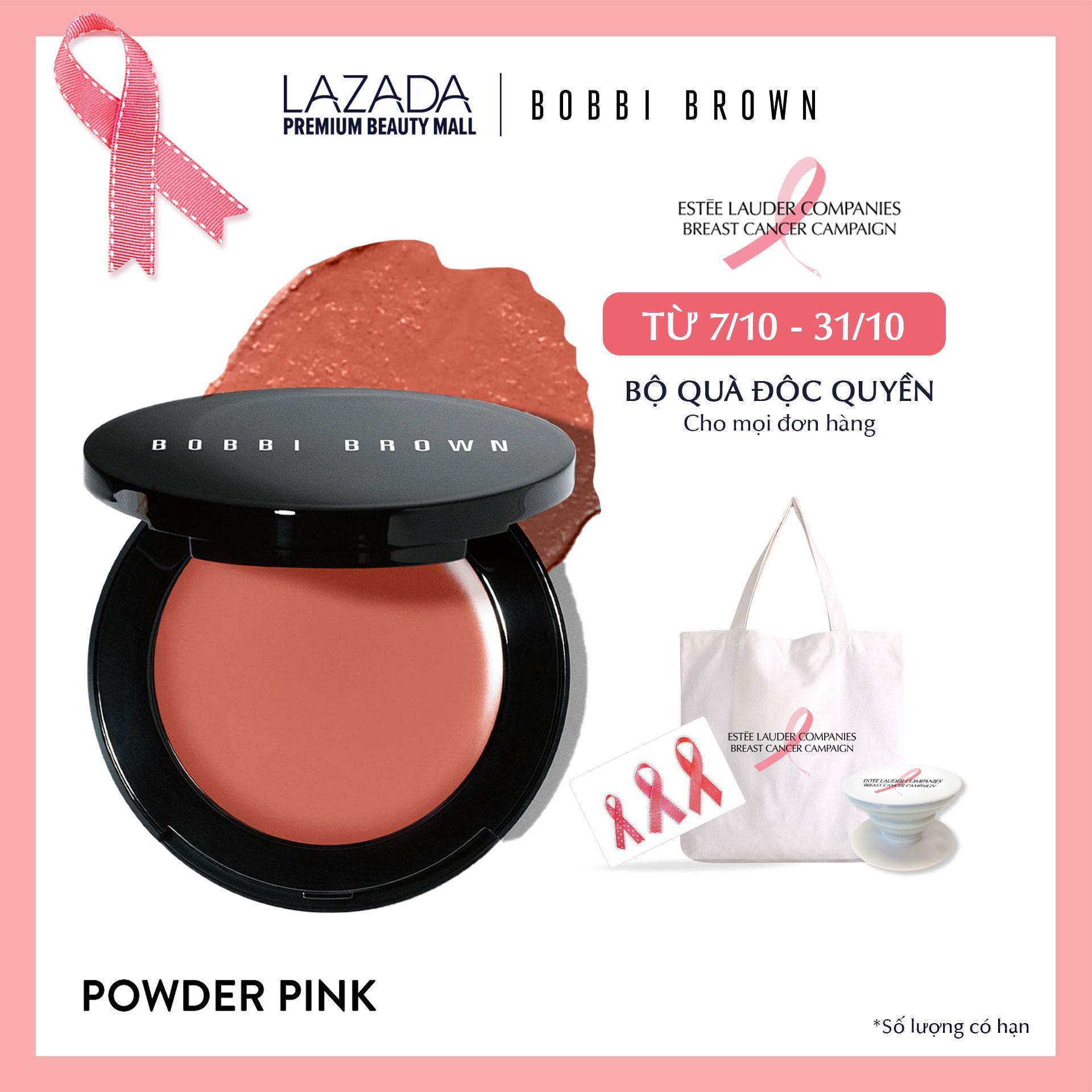Má hồng kem đa năng Bobbi Brown Pot Rouge For Lips & Cheeks  3.7g tốt nhất