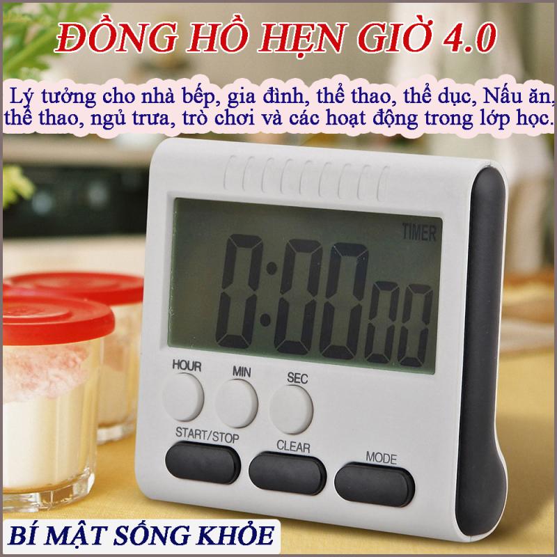 Đồng hồ đếm ngược - thông minh, bấm giờ, báo thức, đồng hồ nam, dong ho nu, Đồng hồ điện tử, Đồng hồ thông minh - Màn Hình LCD Kỹ Thuật Số Dành Cho Phòng Bếp Thiết Bị Hẹn Giờ Nấu Ăn Đếm Ngược bán chạy