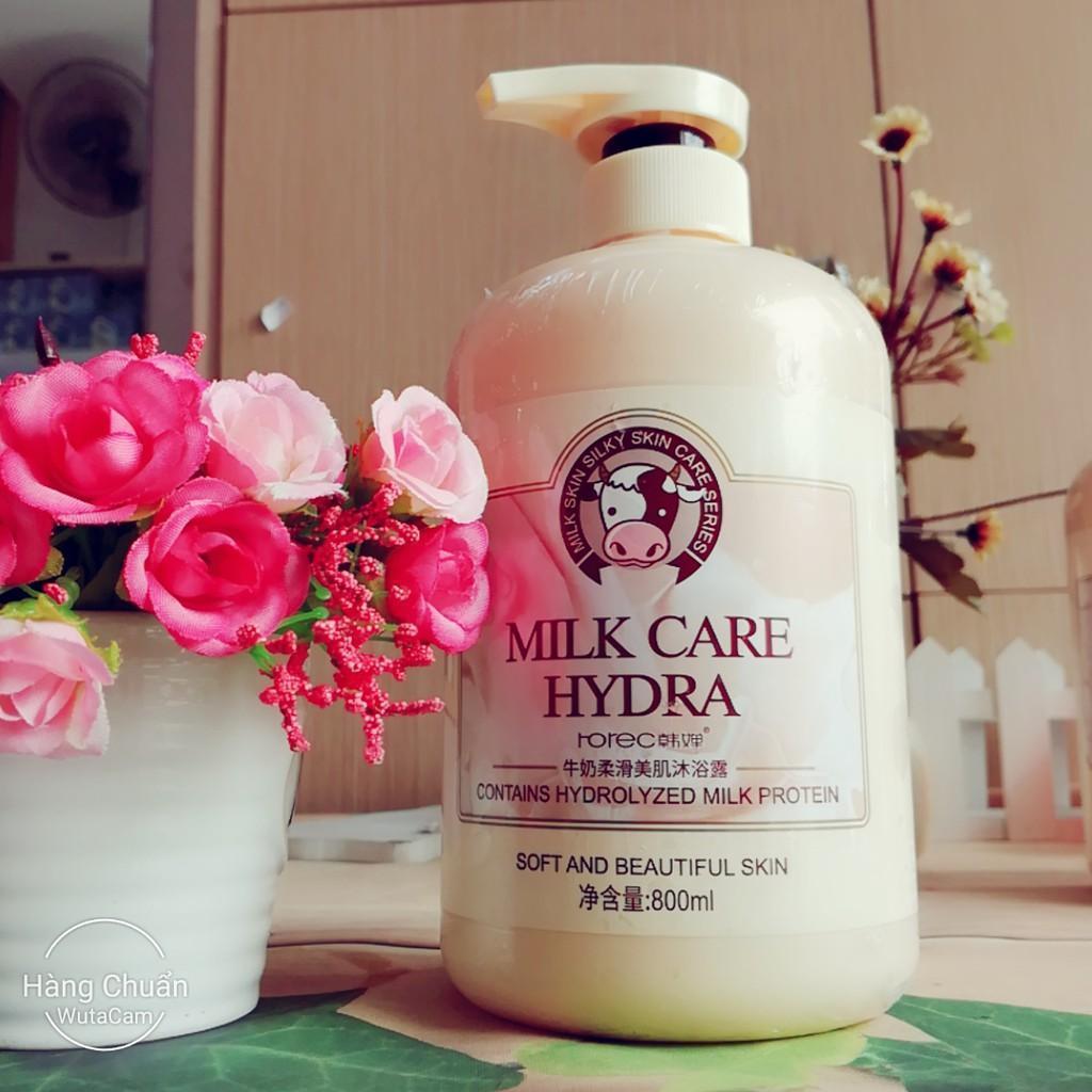 Sữa tắm bò Milk care Hydra
